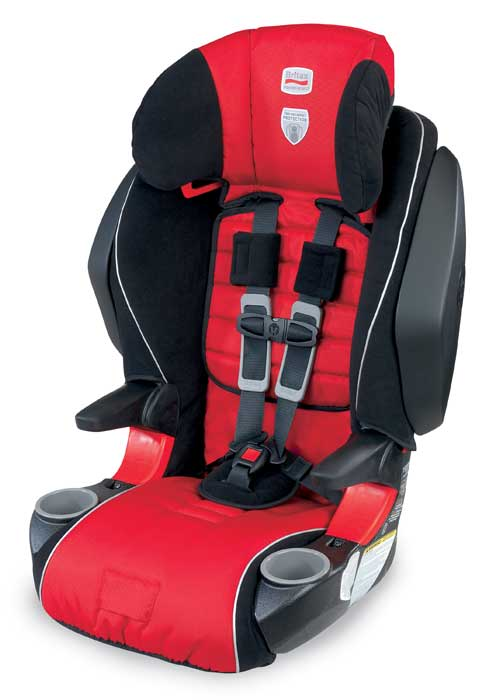 BRITAX FRONTIER 85 SICT Combination Harness 2 Booster Seat Cardinal Product Shot