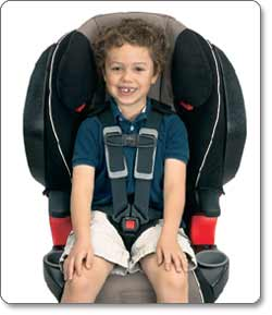 BRITAX FRONTIER 85 SICT Combination Harness-2-Booster Seat, Portobello Lifestyle Shot