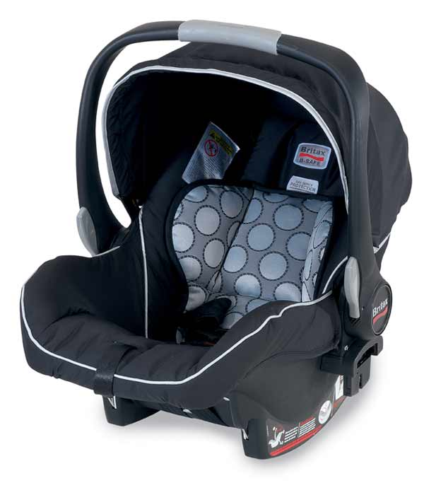 britax b safe infant car seat black prior. Black Bedroom Furniture Sets. Home Design Ideas