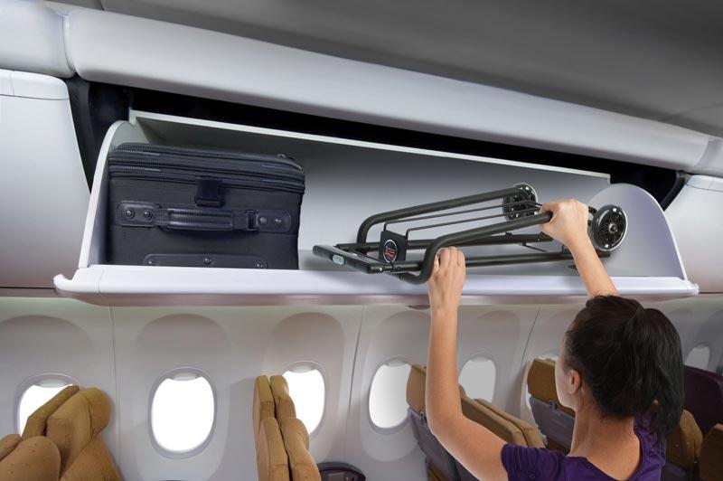 Folds To Fit Easily In Overhead Bin