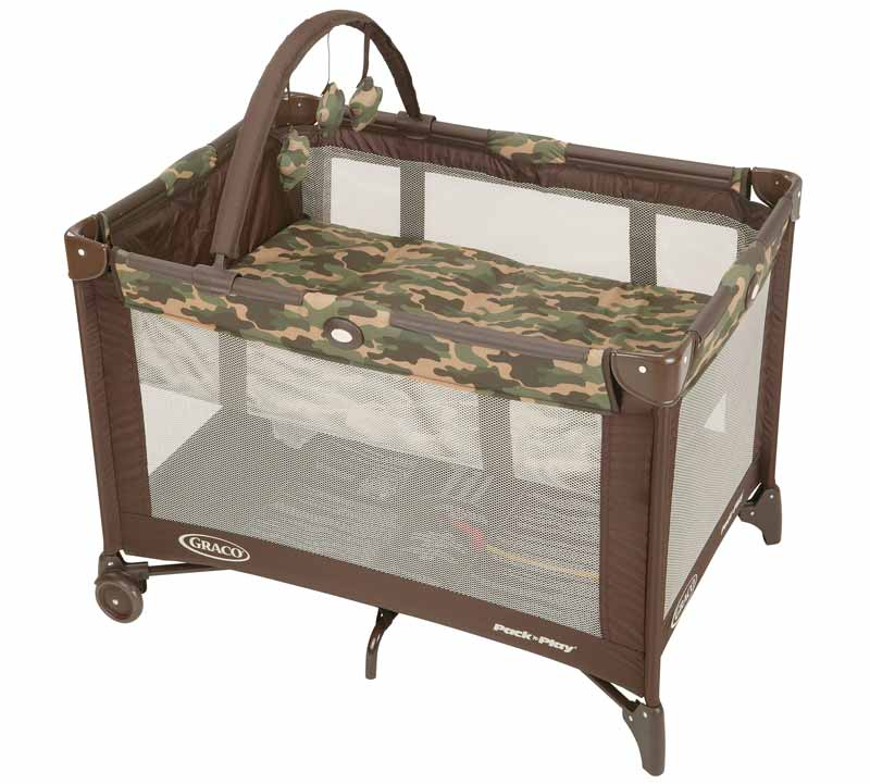 Amazon.com : Graco Pack N Play Playard, Camo Jane : Camo ...