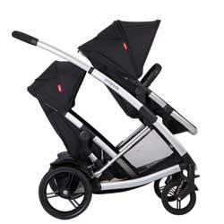 Amazon.com : phil&teds Promenade Buggy Single Stroller, Black ...