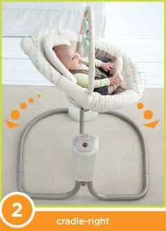Graco Sweet Snuggle Swing Position Shot