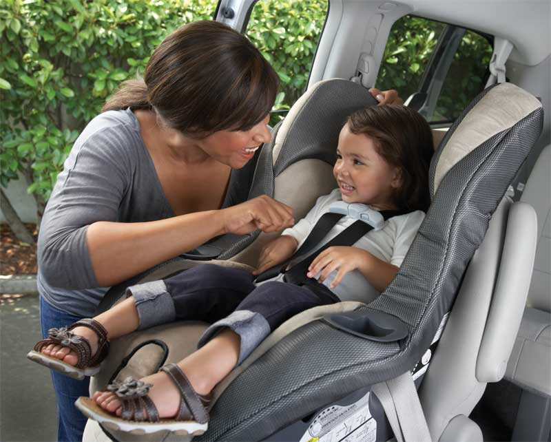 My Ride 65 Convertible Car Seat Featuring Safety Surround Side Impact Technology Lifestyle Shot