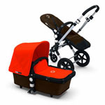 Bugaboo Cameleon3 Base Stroller, Dark Brown Product Shot