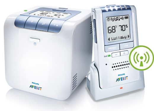 Amazon.com: Philips AVENT Baby Monitor with Temperature