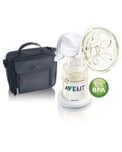 BPA-Free On-the-Go Manual Breast Pump