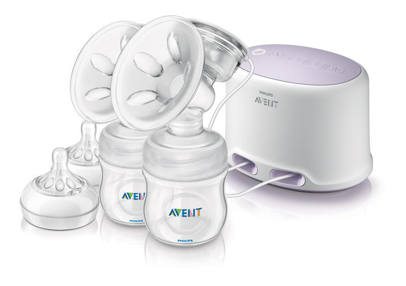 Breast pump and product