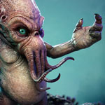 Secrets of ZBrush Experts art - Cthulhu Final