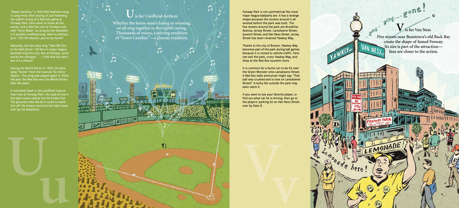 F is for Fenway: America\'s Oldest Major League Ballpark (Sleeping ...