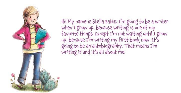 """""""Hi! My name is Stella Batts."""""""