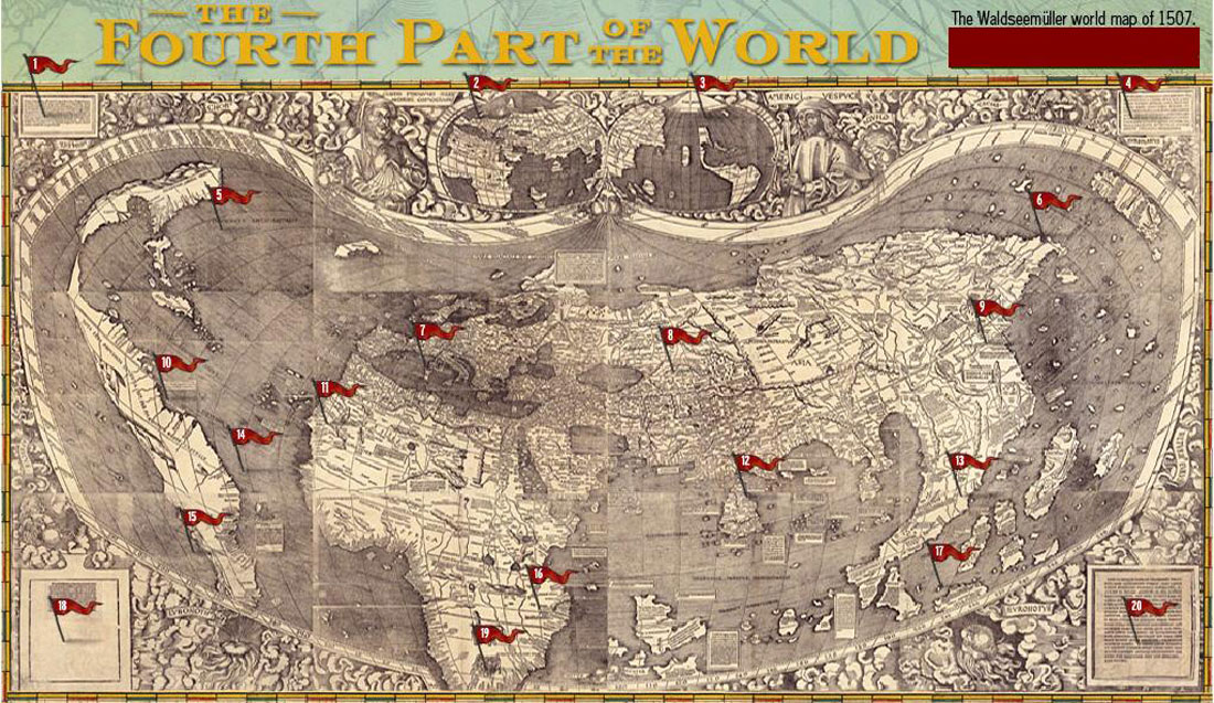 Amazoncom The Fourth Part of the World An Astonishing Epic of