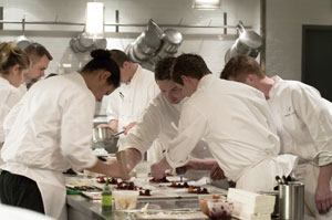 Chefs at Alinea