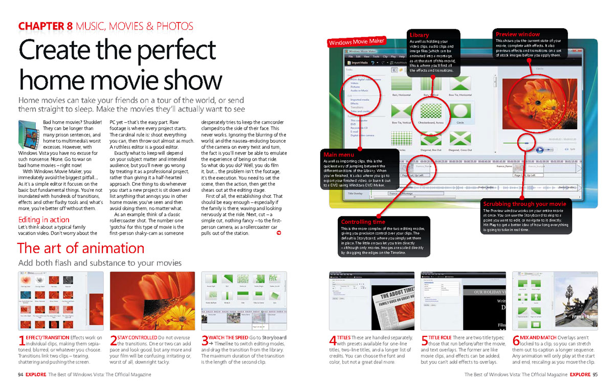 The Best of Windows Vista®: the Official Magazine: A real-life guide