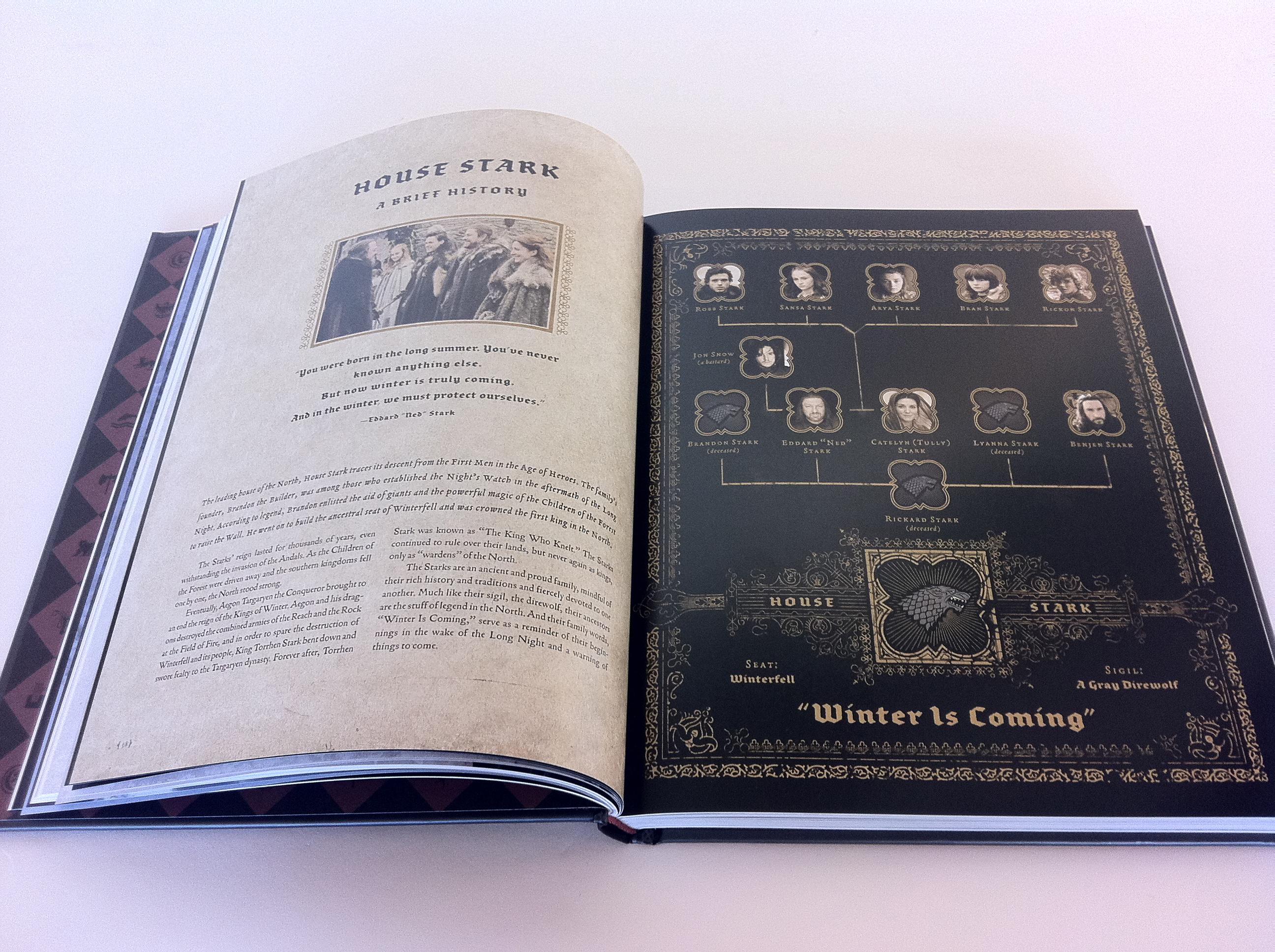 Game of thrones literature