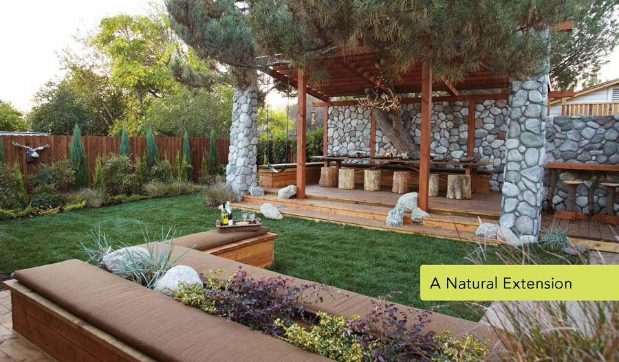 a natural extension - The Outdoor Room