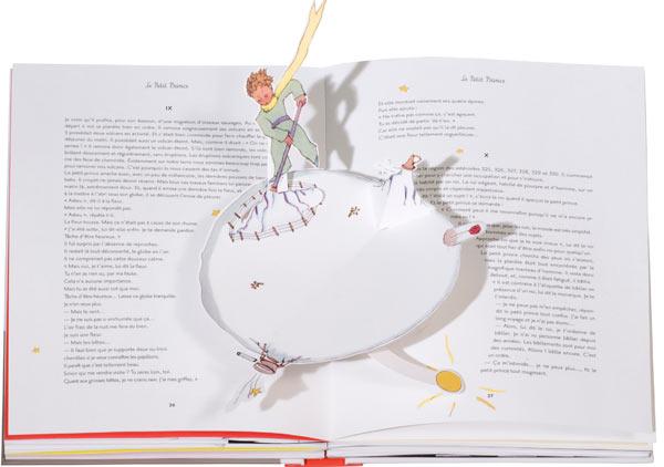 The Little Prince Deluxe Pop-Up Book: Antoine de Saint-Exupéry: 9780547260693: Amazon.com: Books