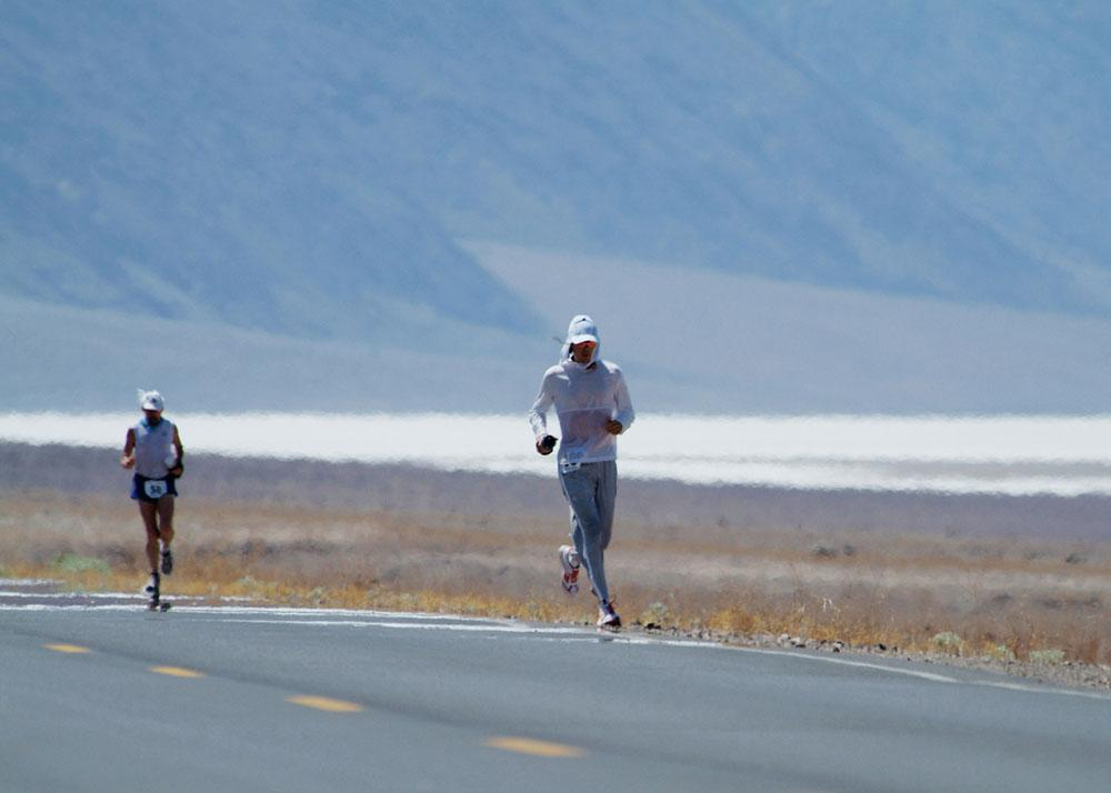 In 2005, two weeks after my seventh consecutive Western States 100 victory, I set out to conquer the Badwater Ultramarathon, a 135-mile endurance slog ...