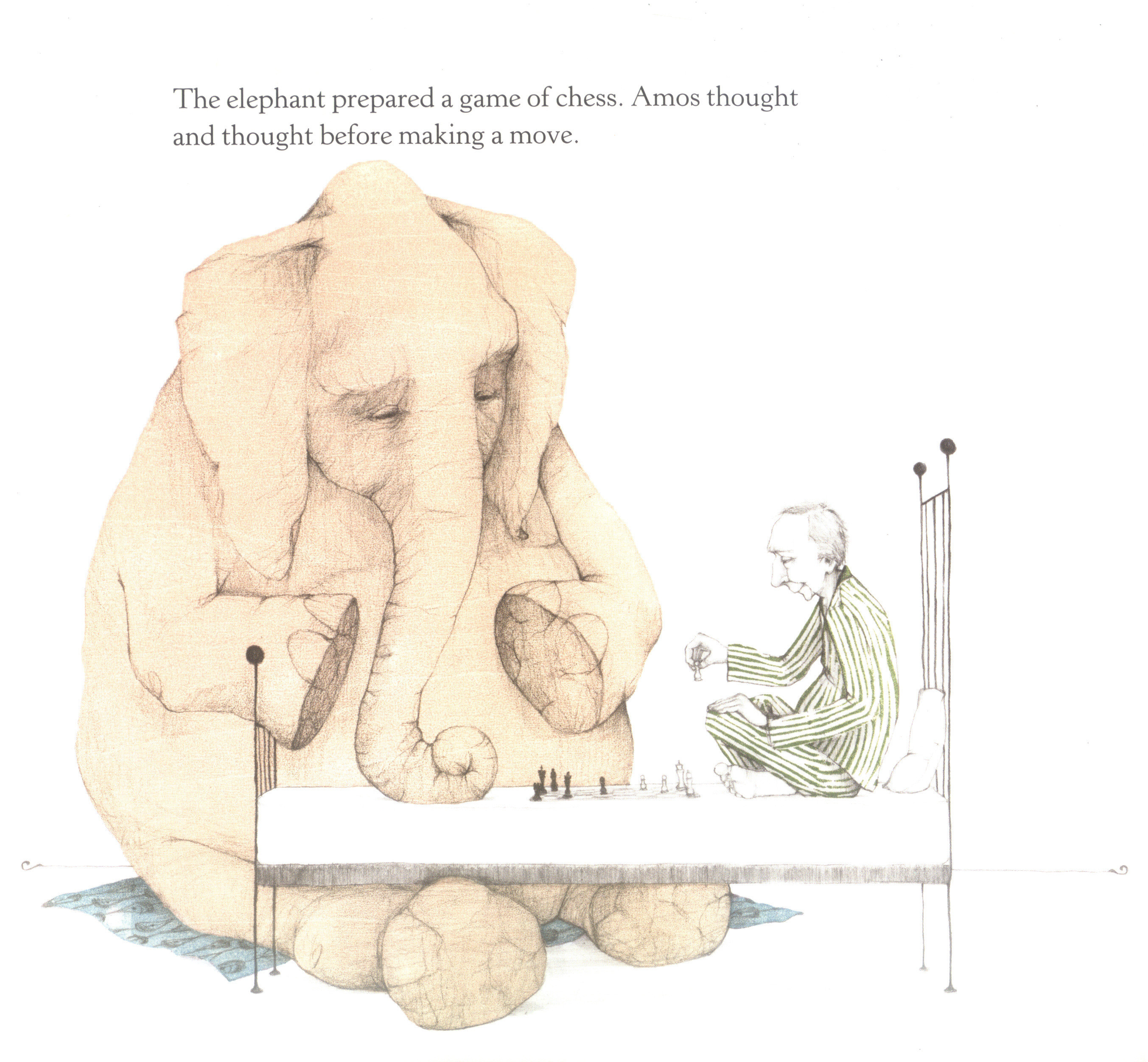 The Elephant Prepared A Game Of Chess