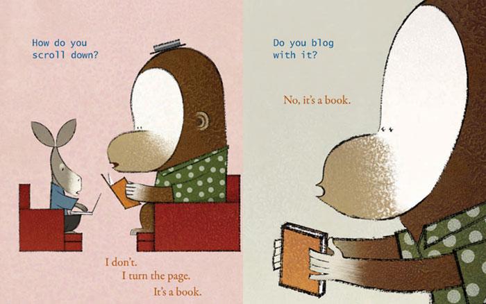 Amazon.com: It's a Book (9781596436060): Lane Smith: Books