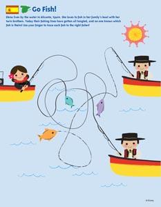 Printables for Kids | Disney Family | 300x233