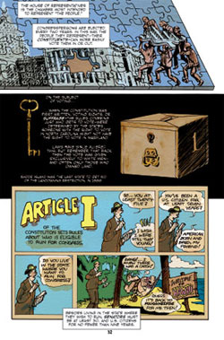 The United States Constitution: A Graphic Adaptation: Jonathan ...