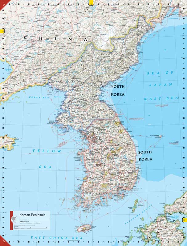 National geographic atlas of the world ninth edition 9781426206344 north korea gumiabroncs Gallery