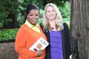 Oprah and Cheryl Strayed