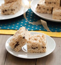 Cookie Dough Crispy Treats
