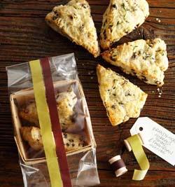 Currant and Parmesan Scones