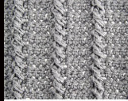 twisted columns cable towers petal link stitch click for patterns