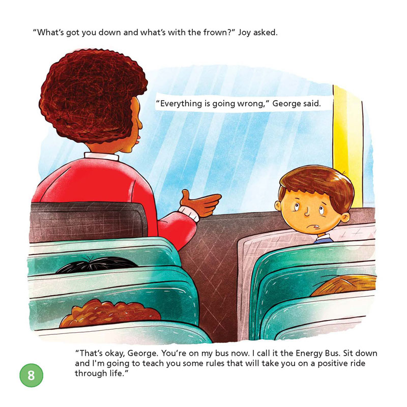 The Energy Bus For Kids A Story About Staying Positive And Best The Energy Bus Quotes