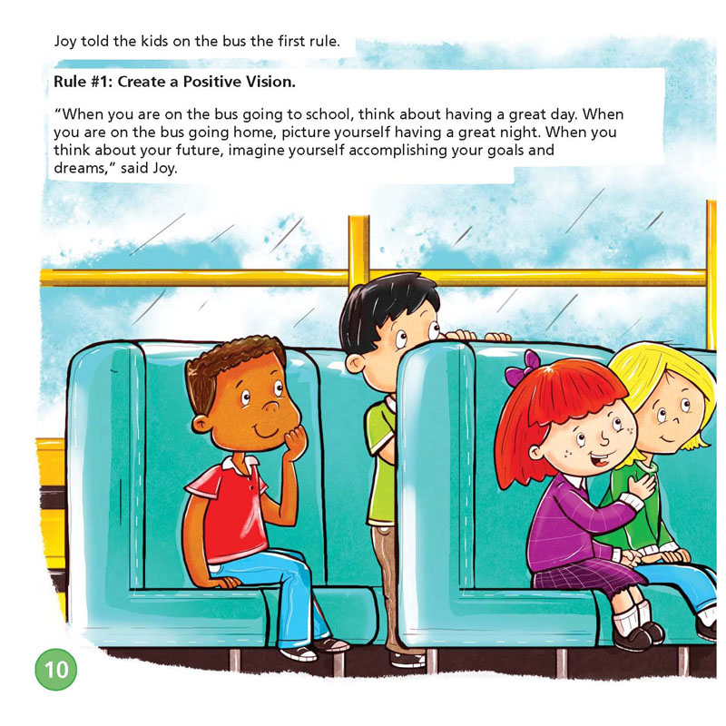 The Energy Bus For Kids A Story About Staying Positive