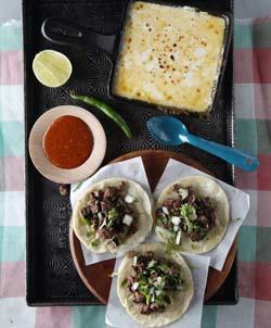 Marinated Skirt Steak Tacos