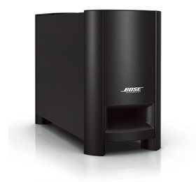 Amazon bose cinemate series ii digital home theater speaker bose acoustimass module the acoustimass module works in concert with the small speakers sciox Image collections