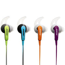 StayHear tips come in 3 sizes (S, M, L)