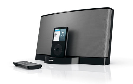 bose sounddock series ii 30 pin ipod iphone speaker dock black home audio theater. Black Bedroom Furniture Sets. Home Design Ideas