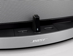 bose bluetooth adapter. switching from the dock for ipod® to bluetooth is quick and easy. bose adapter e