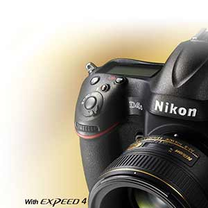 Product photo of the Nikon D4s D-SLR