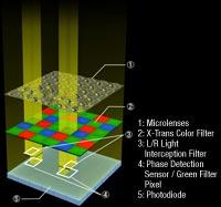 The X-Trans CMOS II sensor