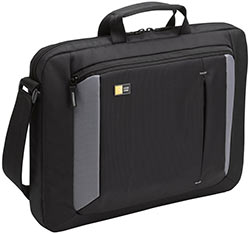 Case Logic VNA-216 16-Inch Laptop Attache - Black