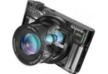 "image2RX100. V320277759  - Sony RX100 20.2 MP Premium Compact Digital Camera w/ 1-inch sensor, 28-100mm ZEISS zoom lens, 3"" LCD"