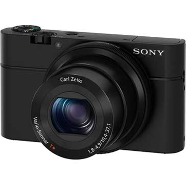 "topproductSmRX100 1. V320277753  - Sony RX100 20.2 MP Premium Compact Digital Camera w/ 1-inch sensor, 28-100mm ZEISS zoom lens, 3"" LCD"