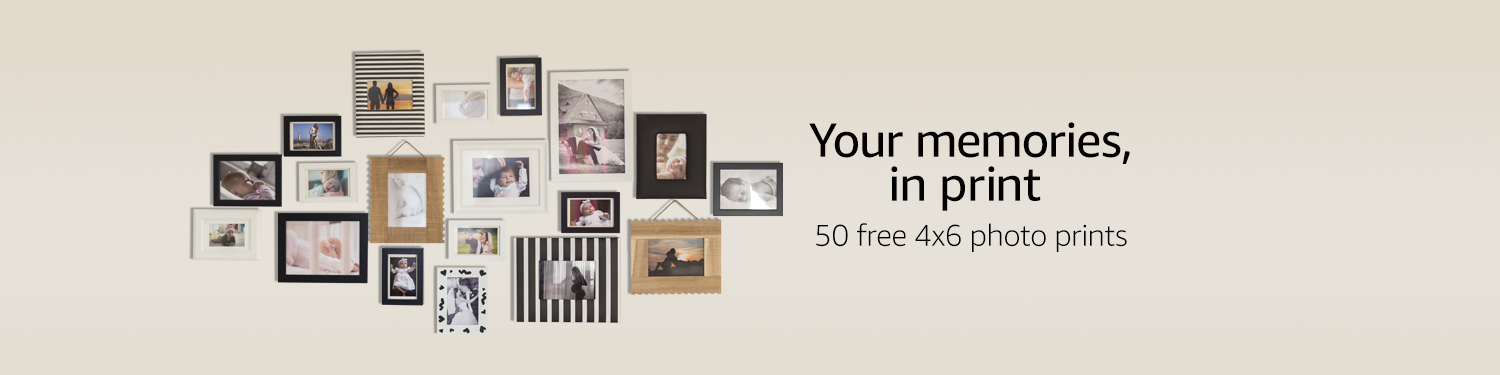 Your memories, in print: 50 free 4x6 photo prints