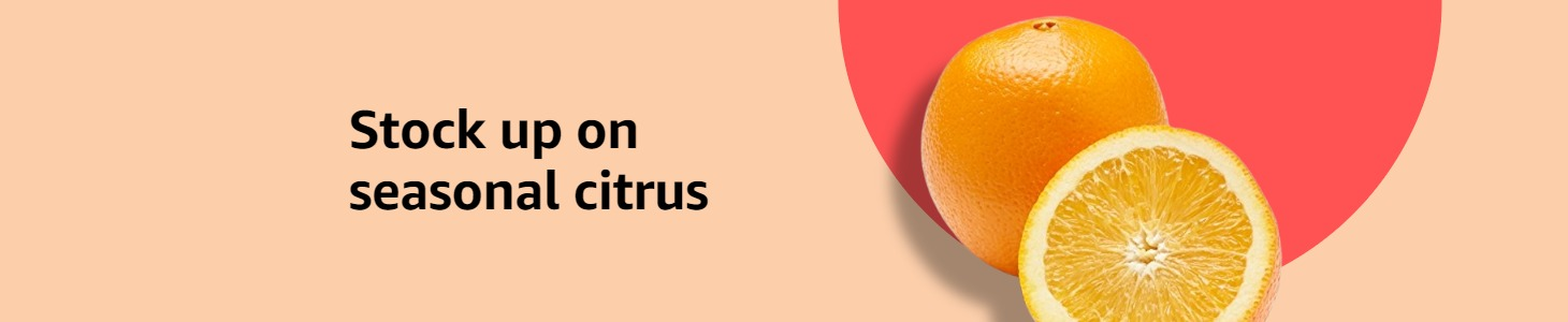 Stock up on seasonal citrus