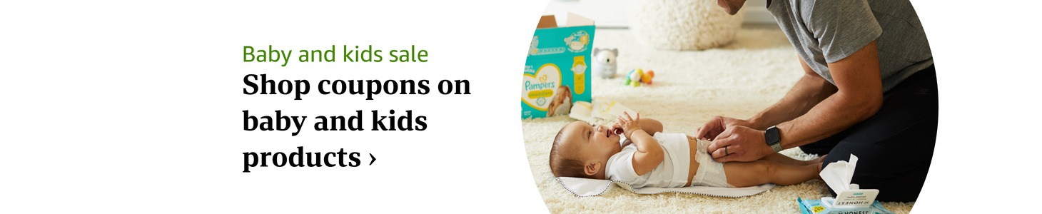 Coupons on Baby and Kids Products >