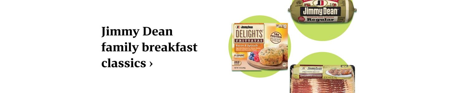 Jimmy Dean family breakfast classics