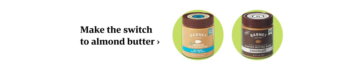 Make the switch to almond butter