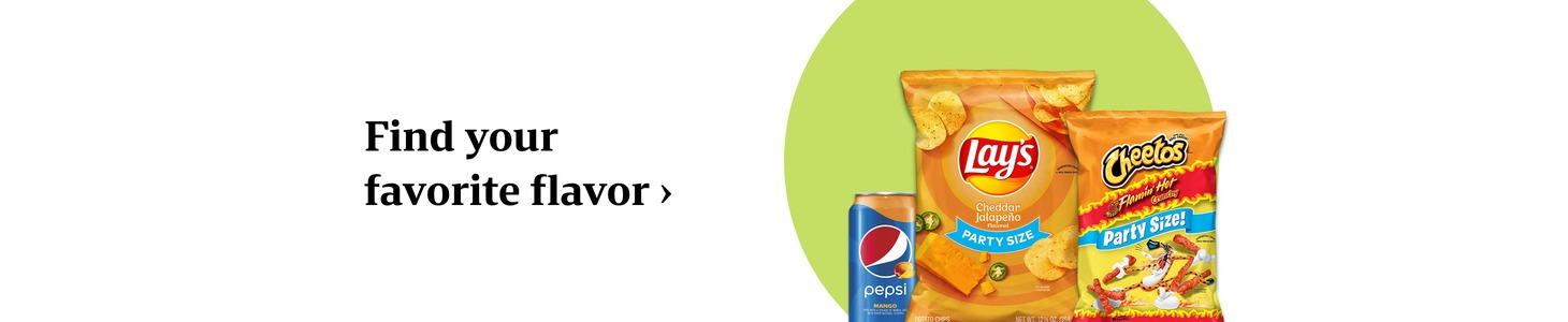 Find your favorite flavor
