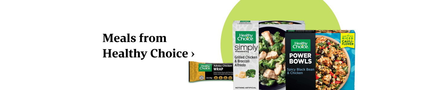 Meals from Healthy Choice